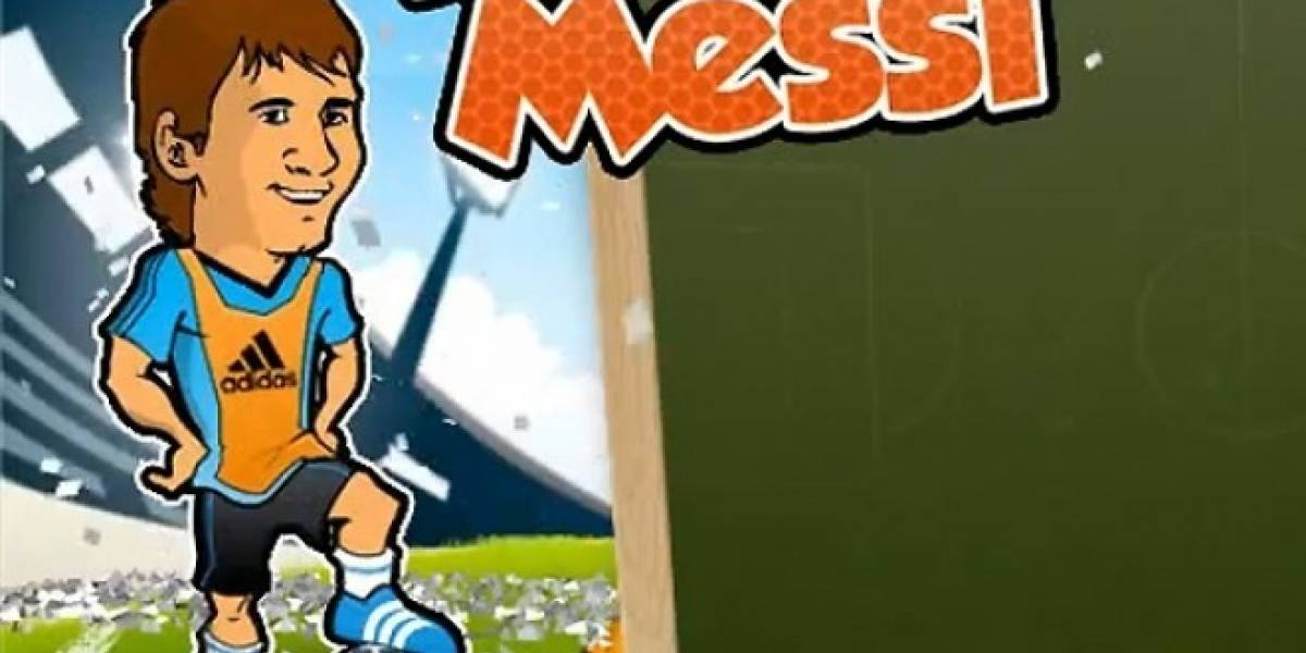 ¡Entrénate con Messi a través de tu smartphone!
