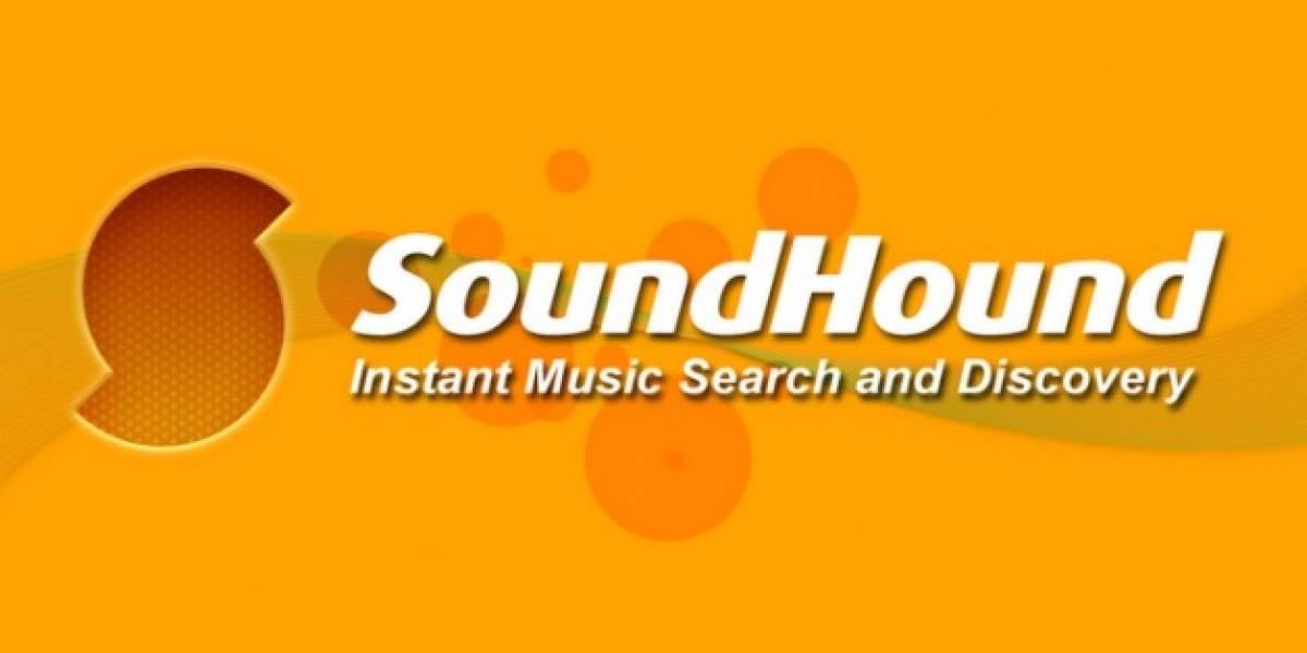 Soundhound lava su cara e integra cambios de interfaz