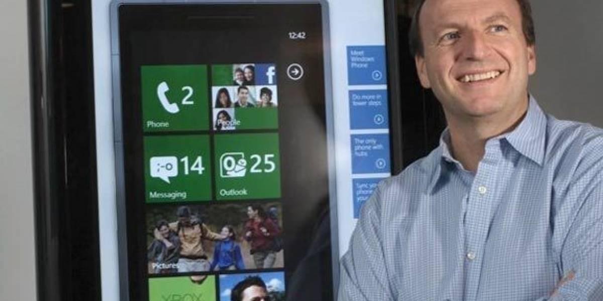 Microsoft saca a Andy Lees como cabeza de Windows Phone 7