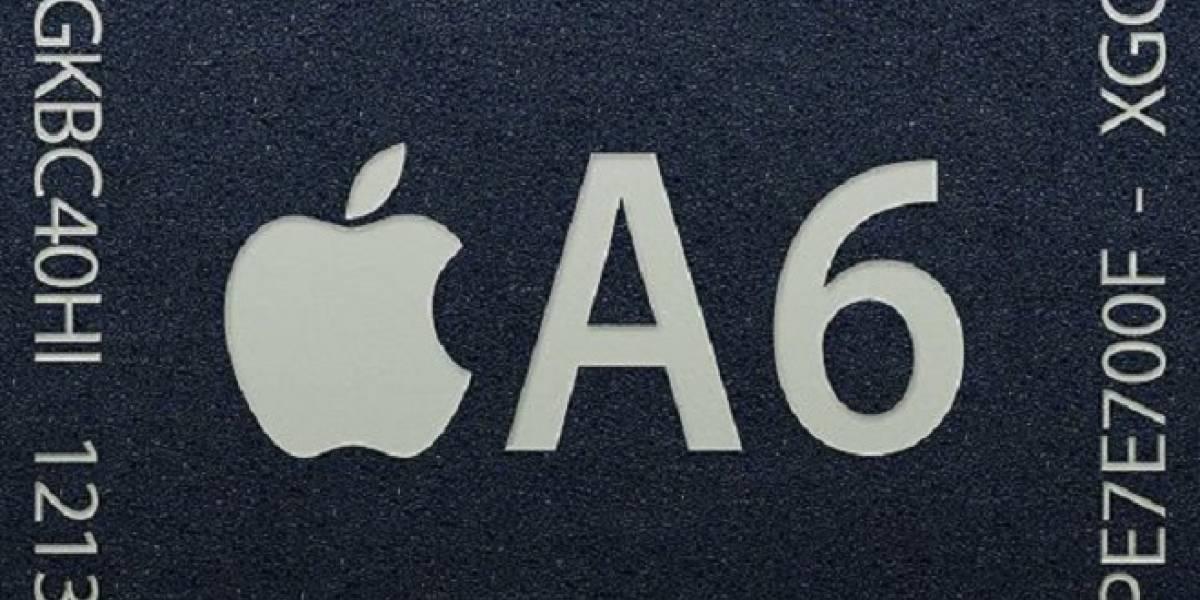 Conociendo el SoC Apple A6 del iPhone 5: Tiene CPU doble núcleo