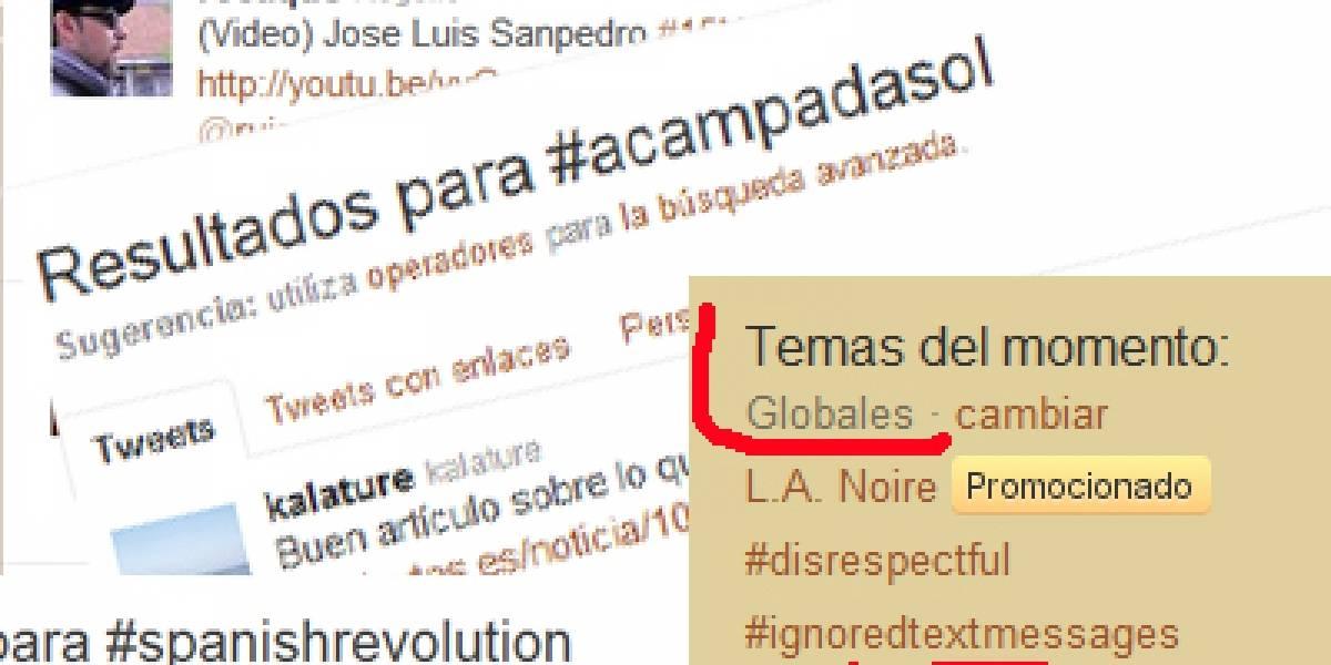 'Revolución' española sacude las redes sociales