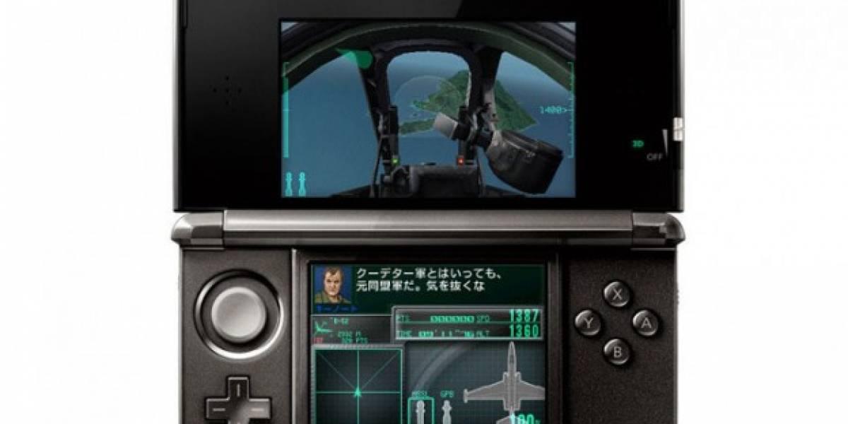 Nuevo trailer de Ace Combat 3D: Cross Rumble para 3DS [TGS 11]