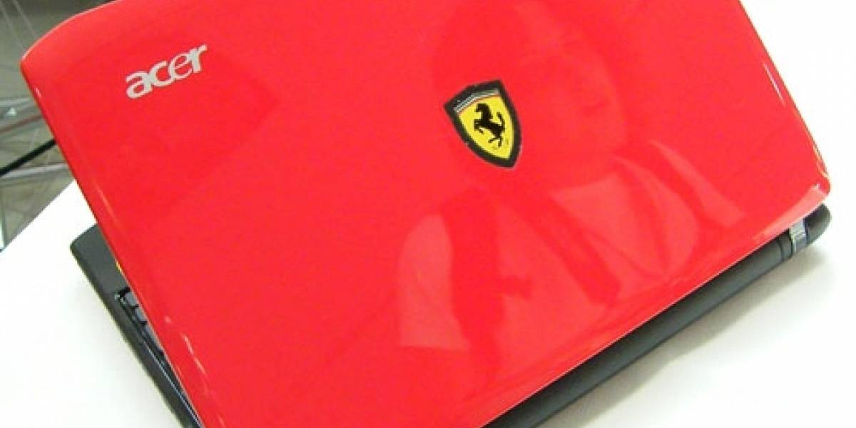 Acer presenta Ultraportátil Ferrari One