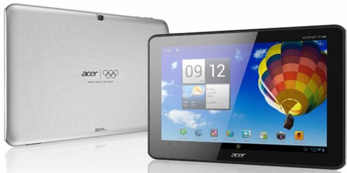 Se hace oficial la tablet Acer Iconia Tab A510