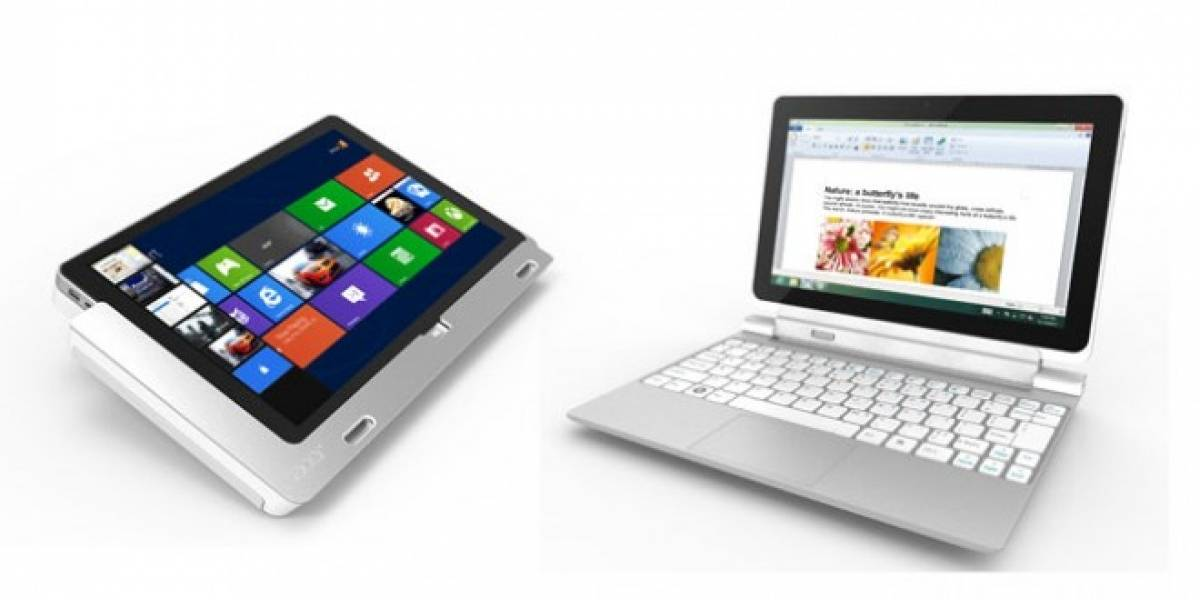 Acer renueva sus Iconia con Windows 8 en tamaños L y XL