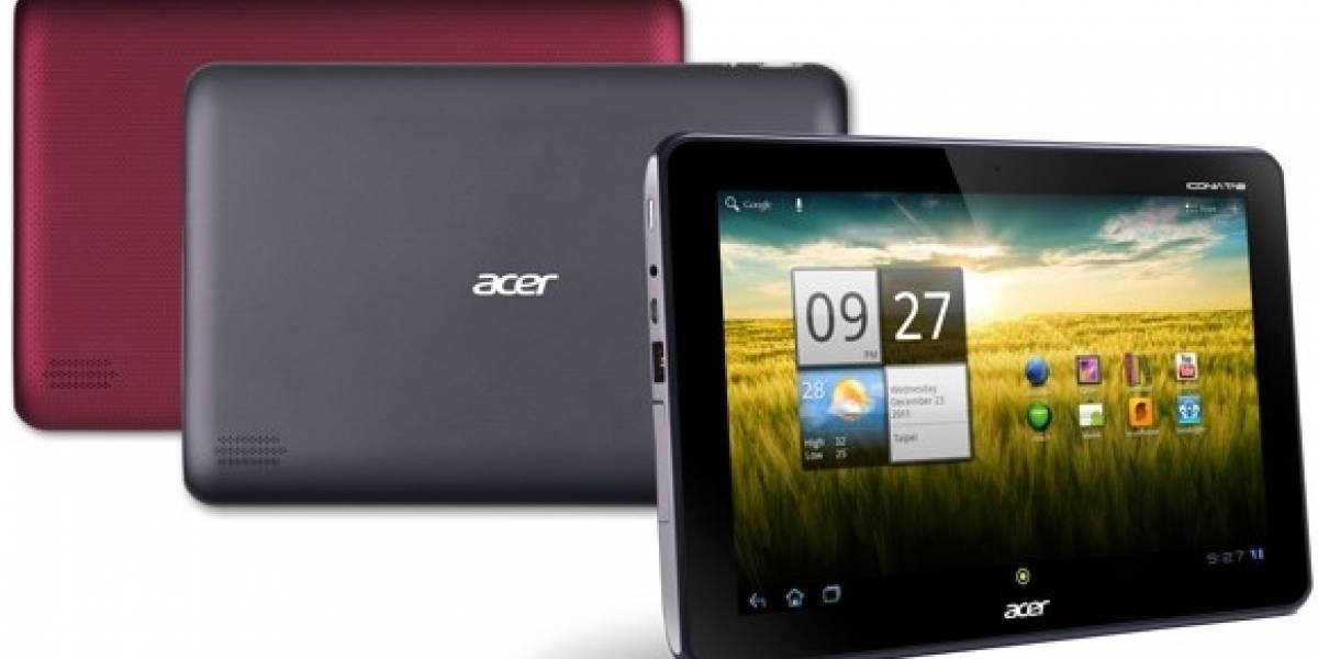 Acer ha anunciado el nuevo Iconia Tab A200
