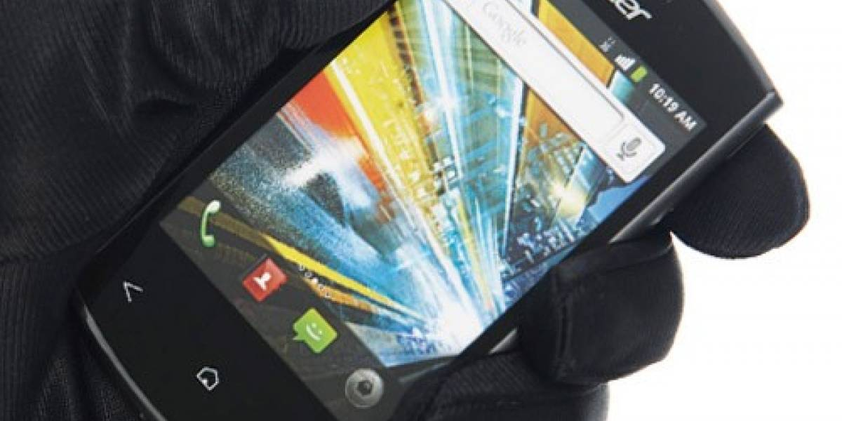 Acer presenta nuevo móvil semi-económico con NFC: Liquid Express