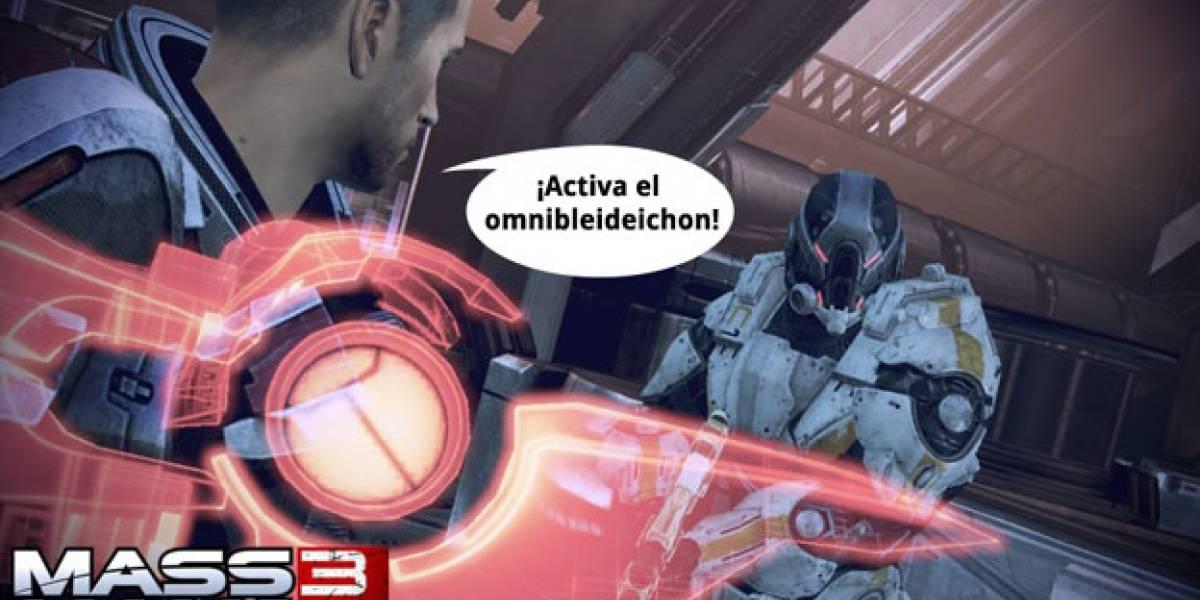 Mass Effect 3 sólo tendrá reconocimiento de voz en XBOX 360 [E3 2011]