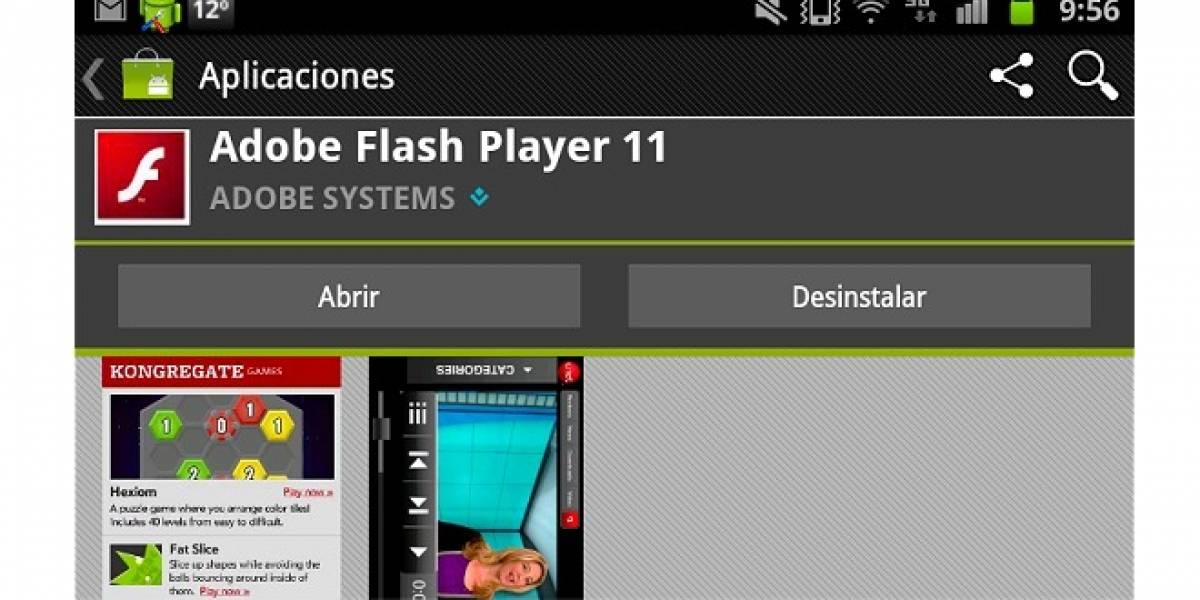 Adobe abandonaría el desarrollo de Flash Player para móviles