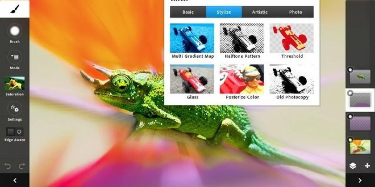 Actualización de Photoshop Touch incluye idiomas, efectos y otras mejoras