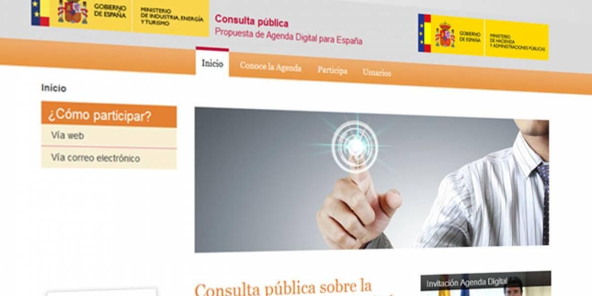 La Agenda Digital Española abre un foro para que los usuarios opinen sobre las propuestas