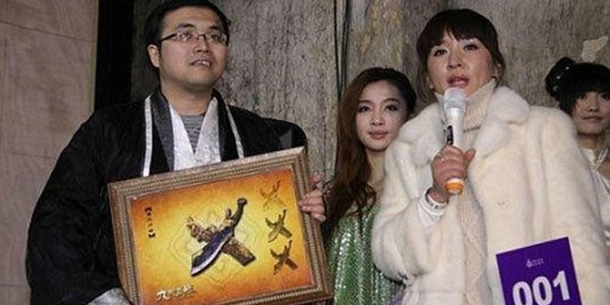 Jugador chino pagó US $16.000 dólares por espada virtual de un juego que todavía no se lanza
