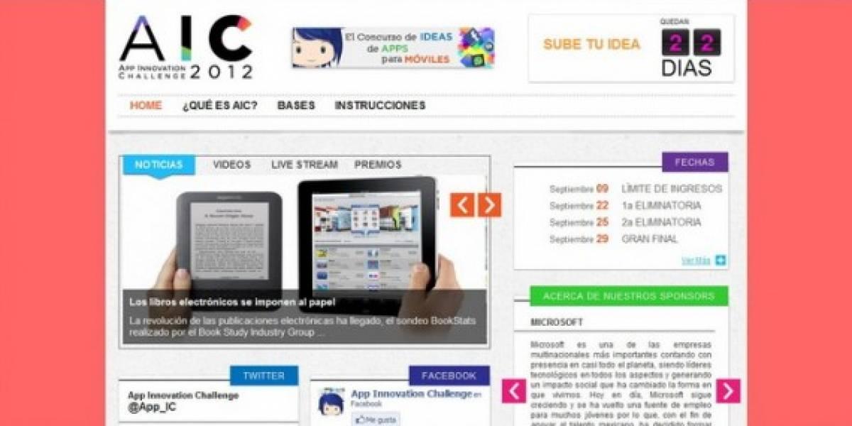 Concurso de innovación IAC 2012 México