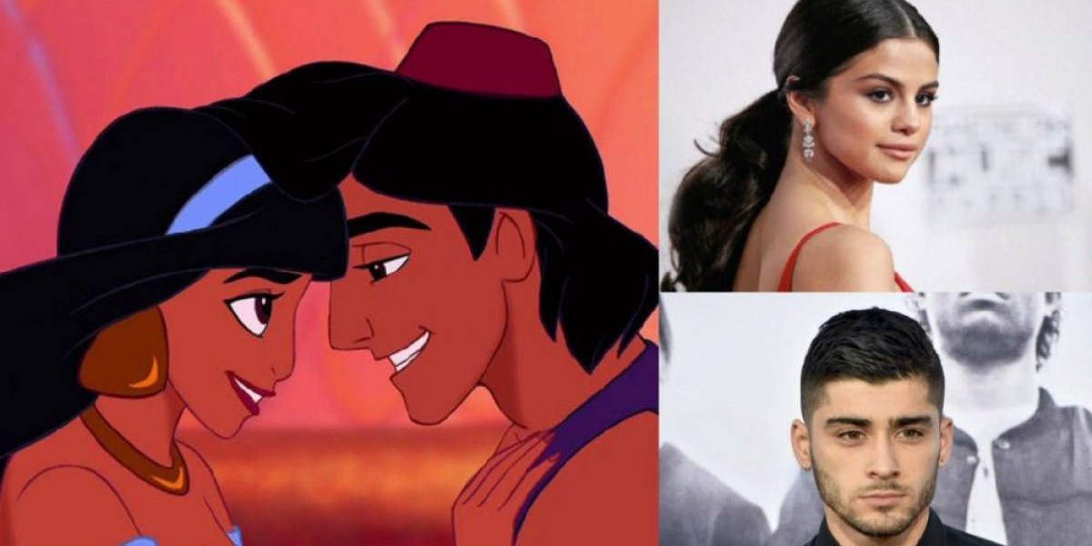 Remake de Aladdin: surgem boatos de parceria entre Selena Gomez e Zayn Malik