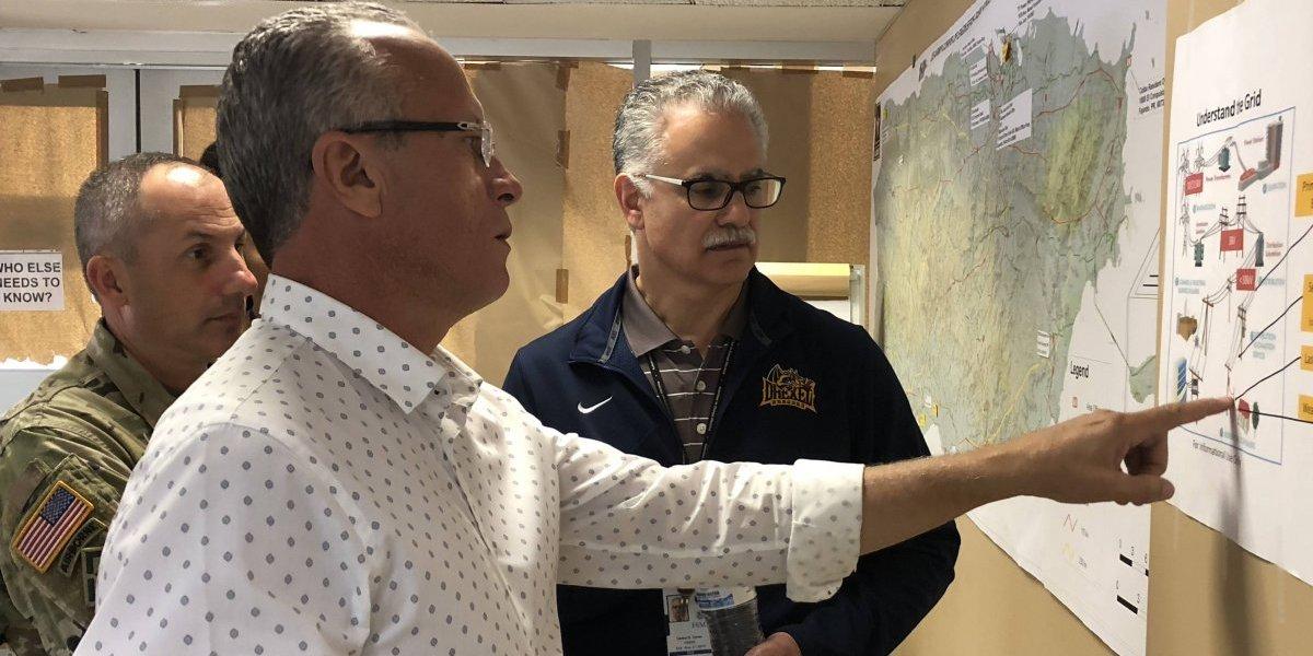 Alcalde de Cayey se reúne con coronel del Cuerpo de Ingenieros