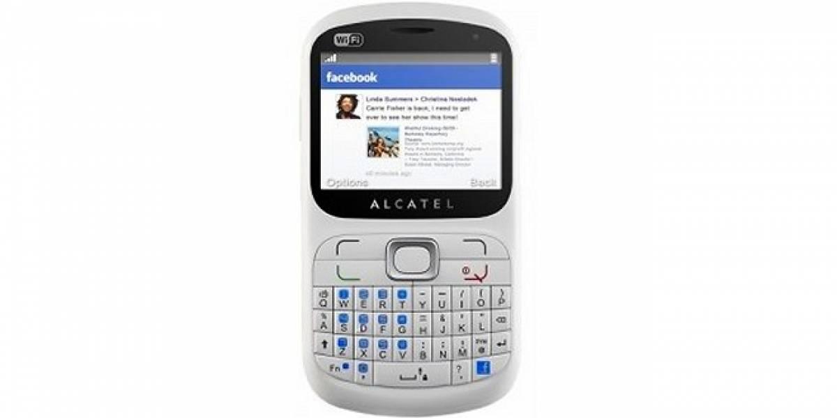 Alcatel One Touch 813F: Otro más que integra el famoso botón Facebook