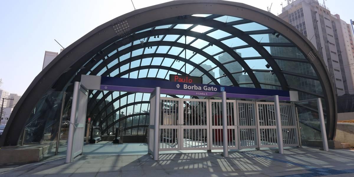 Linhas 5-Lilás e 15-Prata do Metrô terão funcionamento interrompido neste fim de semana