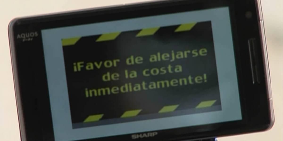 Chile implementará a fin de año alertas de tsunamis vía celulares gracias a TV digital