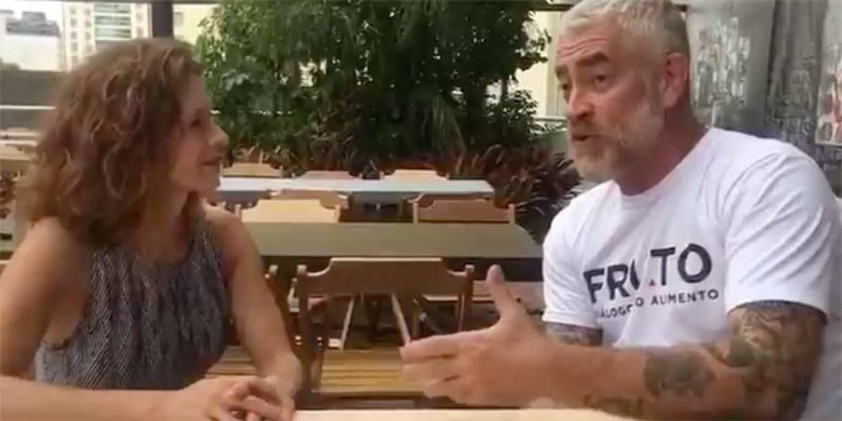 """""""É mentira que o Brasil come arroz e feijão. Mandioca é a raiz do brasileiro"""", diz chef Alex Atala"""
