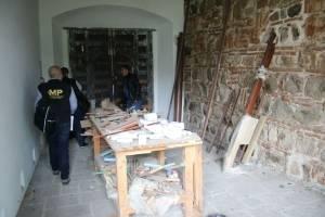 inmueble vinculado a Alejandro Sinibaldi en Antigua Guatemala