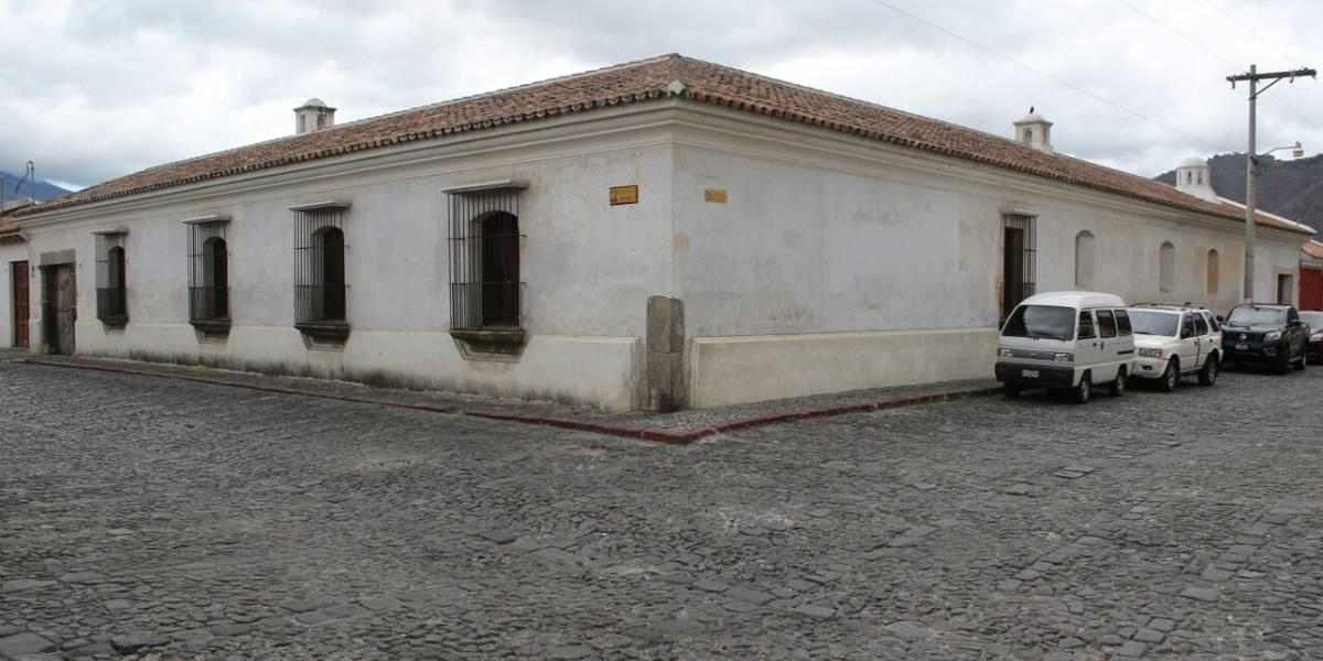 Allanan inmueble en Antigua Guatemala vinculado a Alejandro Sinibaldi