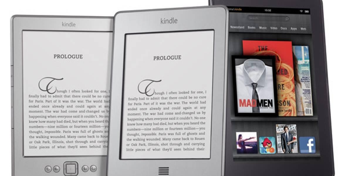 La familia Kindle de Amazon rompe récords de ventas