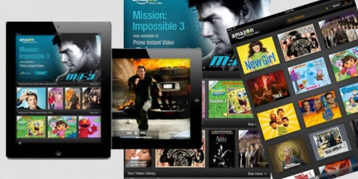 Amazon lanza app de compra y alquiler de videos para iPad