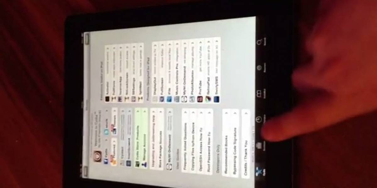El Nuevo iPad con jailbreak untethered [Video]