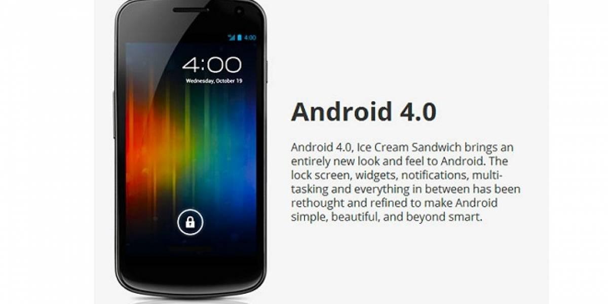Las aplicaciones para Android 4.0 tendrán aceleración por hardware