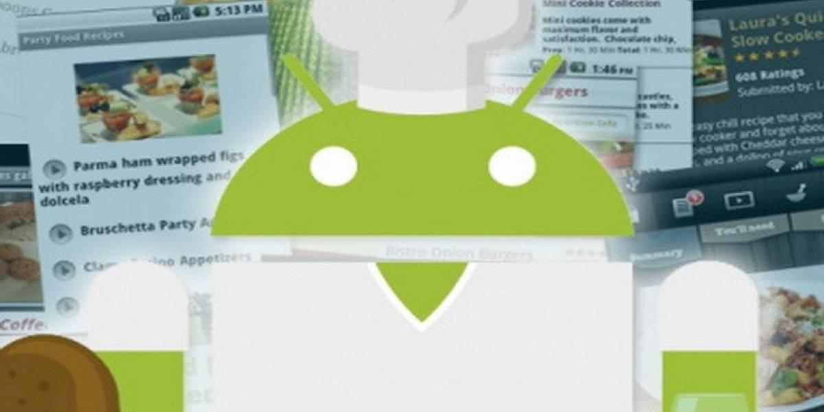 Tu Android como ayudante en la cocina