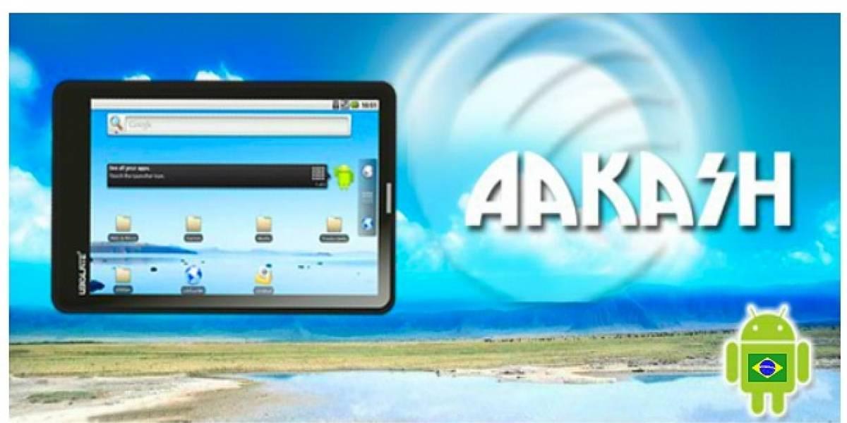 Aakash Ubislate, la tableta más barata del mundo, podría llegar a Brasil