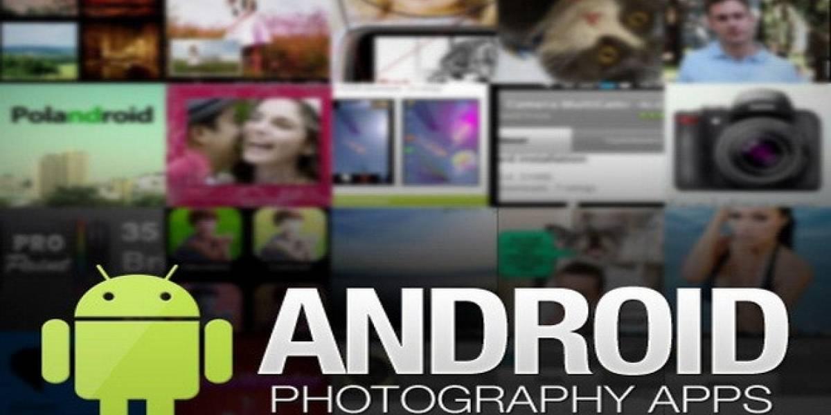 Cinco aplicaciones de fotografía imprescindibles para tu Android