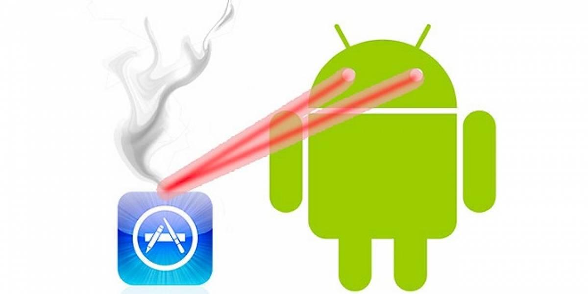 Ya se descargan más aplicaciones de Android que de iOS