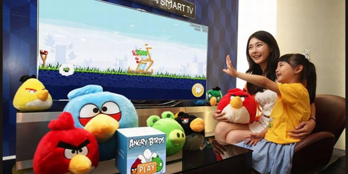 Los Angry Birds aterrizan en las Smart TV de Samsung en España