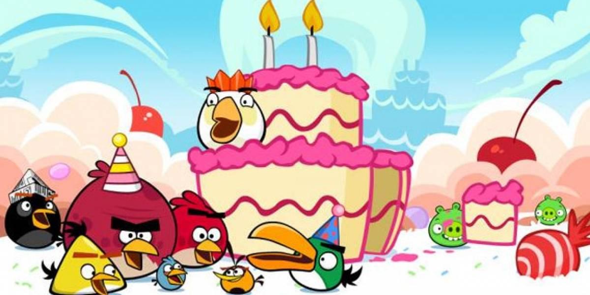 Angry Birds cumple dos años con una actualización de aniversario