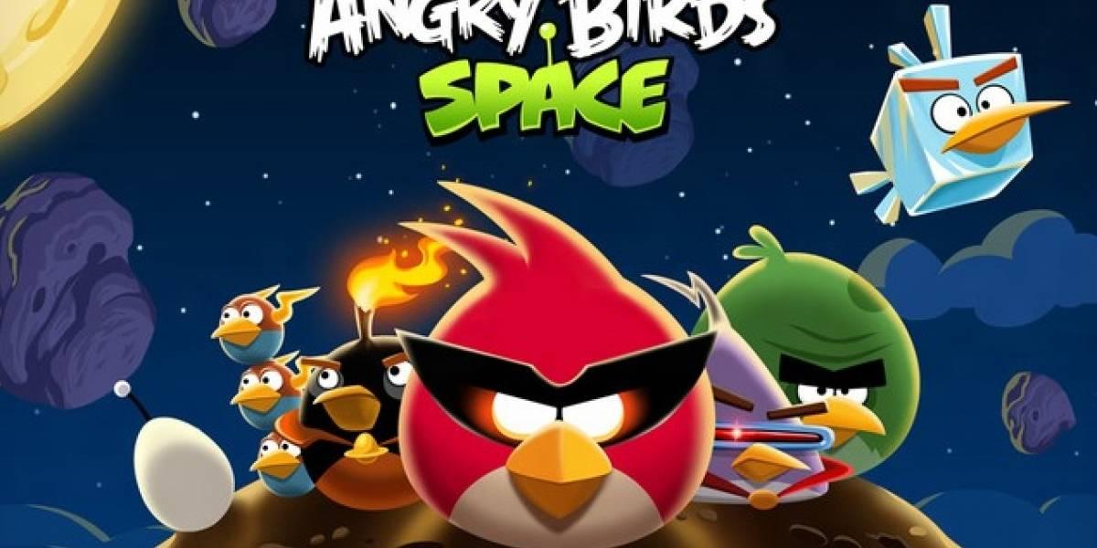Cuidado, una versión falsa de Angry Birds Space puede infectar tu Android