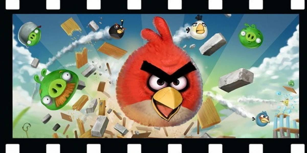 Los Angry Birds tendrán serie animada y película