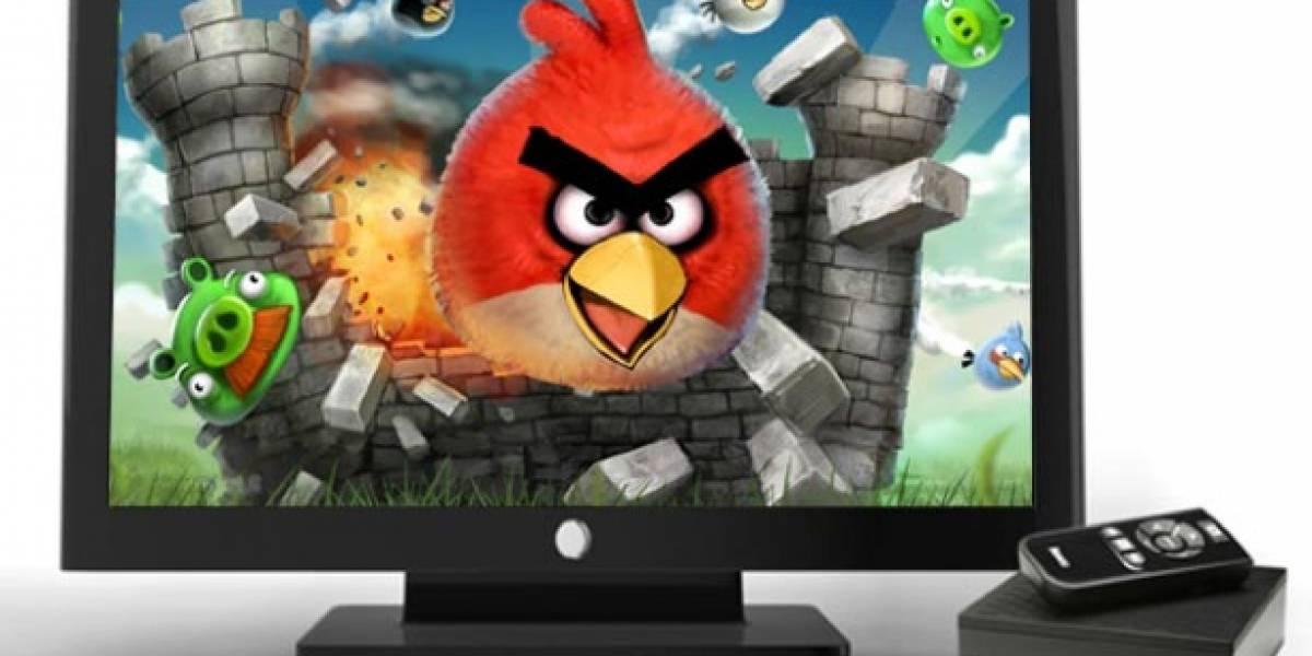 Ahora vas a poder jugar Angry Birds en la TV