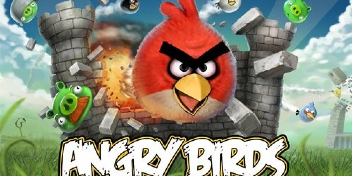 Angry Birds alcanza las 500 millones de descargas