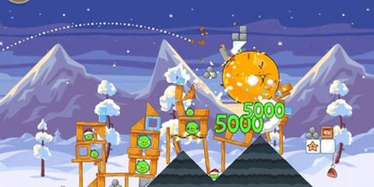 Angry Birds Season tiene 25 niveles nuevos
