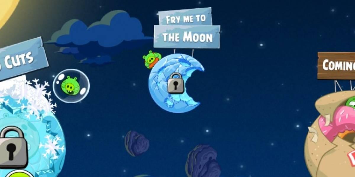 10 nuevos niveles para Angry Birds Space