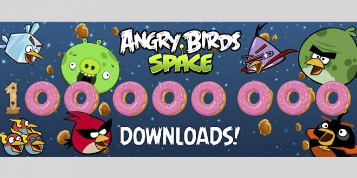 Angry Birds Space celebra más de 100 millones de descargas
