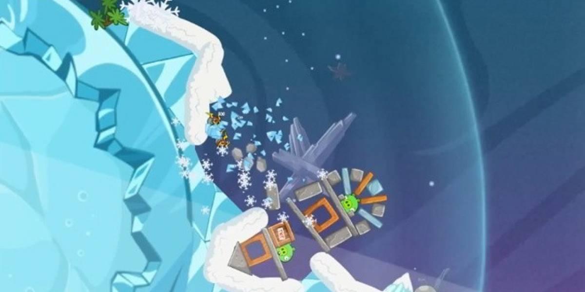 Así se juega Angry Birds Space