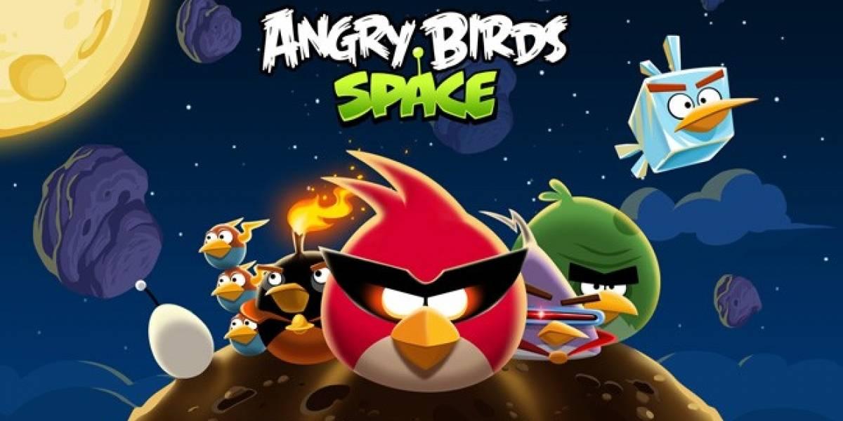 Angry Birds Space ya ha sido descargado 10 millones de veces