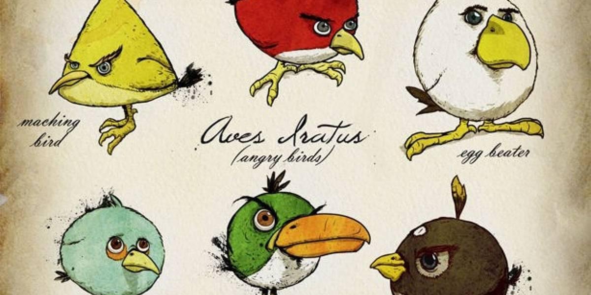 Angry Birds es el juego más descargado en la PSN