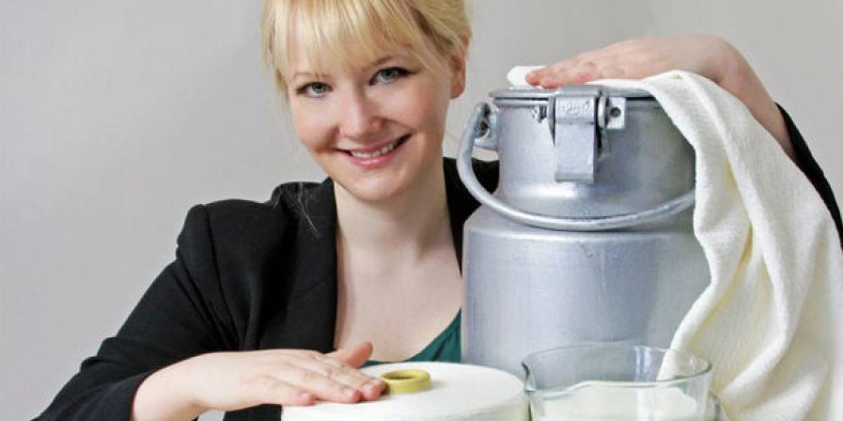 Científica alemana crea tejido en base a leche podrida