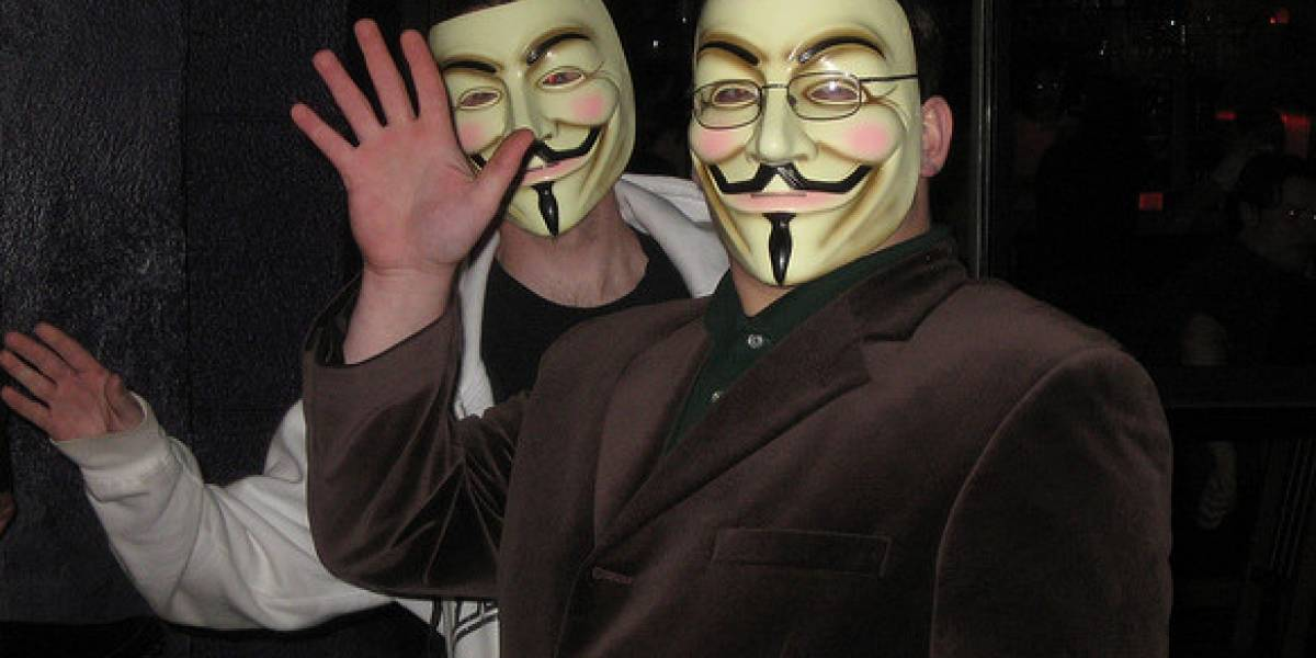 Anonymous ataca empresa que ayudaba al FBI a encontrar a sus miembros