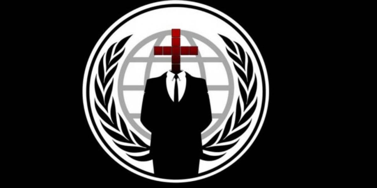 San Bernardo: Anonymous hackea web de la municipalidad
