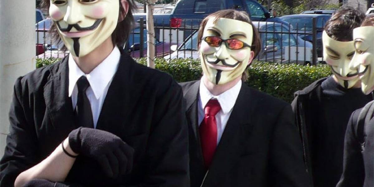 Anonymous anuncia el comienzo de la 'guerra cibernética' en Venezuela
