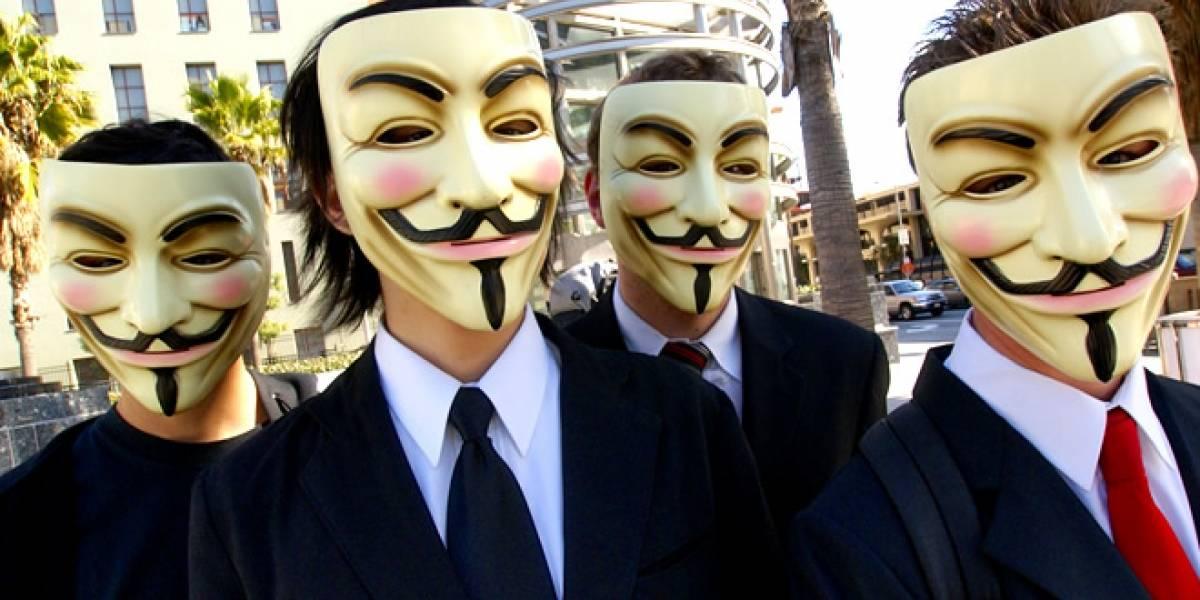 Anonymous amenaza a Sony por apoyo a ley SOPA